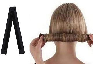 AASA Ponytail Holder for Women, Bun Maker Hair Accessories for Girls for Women, Black, 15Grams, Set of 2Pcs, Pack of 1 (M-13)