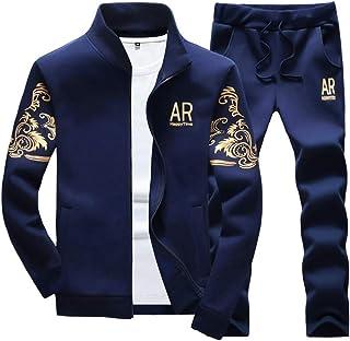 MANTORS بدلة رياضية بقلنسوة للرجال مع سحاب كامل كاجوال للركض وصالة الألعاب الرياضية