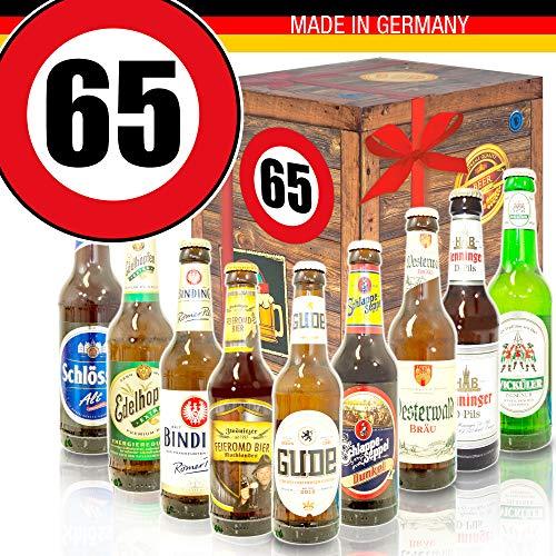Ideen zum 65. Geburtstag für Männer/Deutsches Bier/Bierset