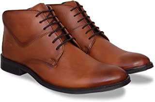 ID Men's Tan Office Boots
