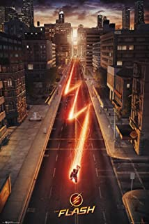The Flash - TV Show Poster / Print (Cityscape) (Size: 22
