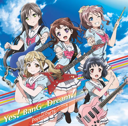 Poppin'party - Bandori! Yes! Bang_Dream! (CD+BD) [Japan LTD CD] BRMM-10032