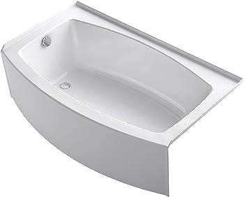 Kohler Acrylic Three-Wall Alcove Expanse Bathtub