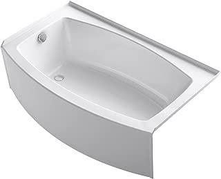 KOHLER K-1118-LA-0 Expanse Bathtub, 18.25 x 36.00 x 60.00 inches, White