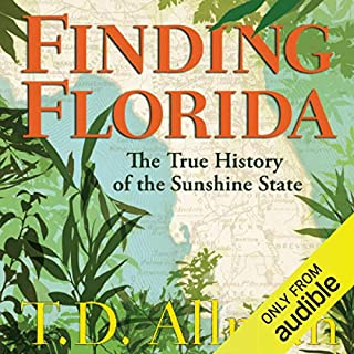 Finding Florida audiobook cover art