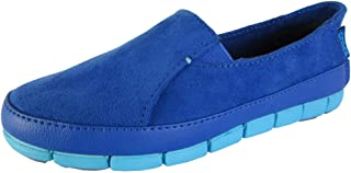 Womens Stretch Sole Microsuede Loafers