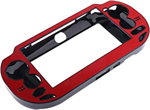 Baoblaze Red Shockproof Plastic Case Cover For Sony PlayStation Ps Vita Psv1000 Console