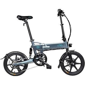 Bicicleta eléctrica Plegable,250W, Batería 36V E-Bike Sistema de ...