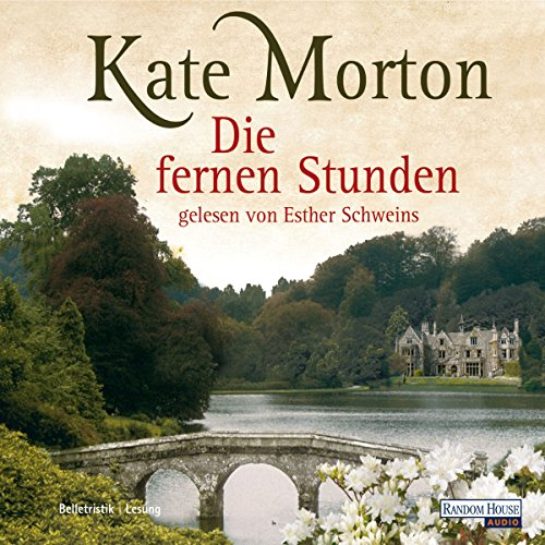 Die fernen Stunden                   By:                                                                                                                                 Kate Morton                               Narrated by:                                                                                                                                 Esther Schweins                      Length: 6 hrs and 55 mins     Not rated yet     Overall 0.0