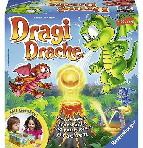 Dragi Drache: Von schwebenden Feuerbällen und pustestarken Drachen