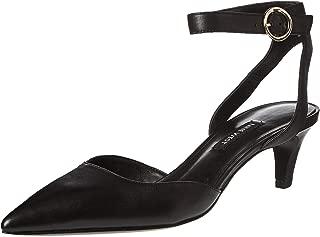 Nine West Quinteena Strap Heel For Women, 37.5 EU BLACK