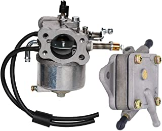 OXOXO Carburetor 26645G03 26645G04 72558G03 with Fuel Pump 72021G01 for Gas 4 Cycle EZGO Carts with 295cc Engine, 1991-UP (4 Cycle only) TXT & Medalist