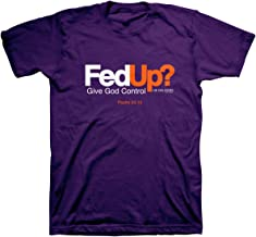 Kerusso Men's Fed Up? T-Shirt - Purple -