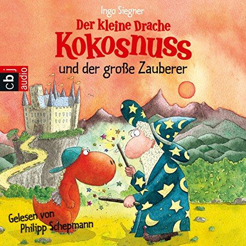 Der kleine Drache Kokosnuss und der große Zauberer cover art