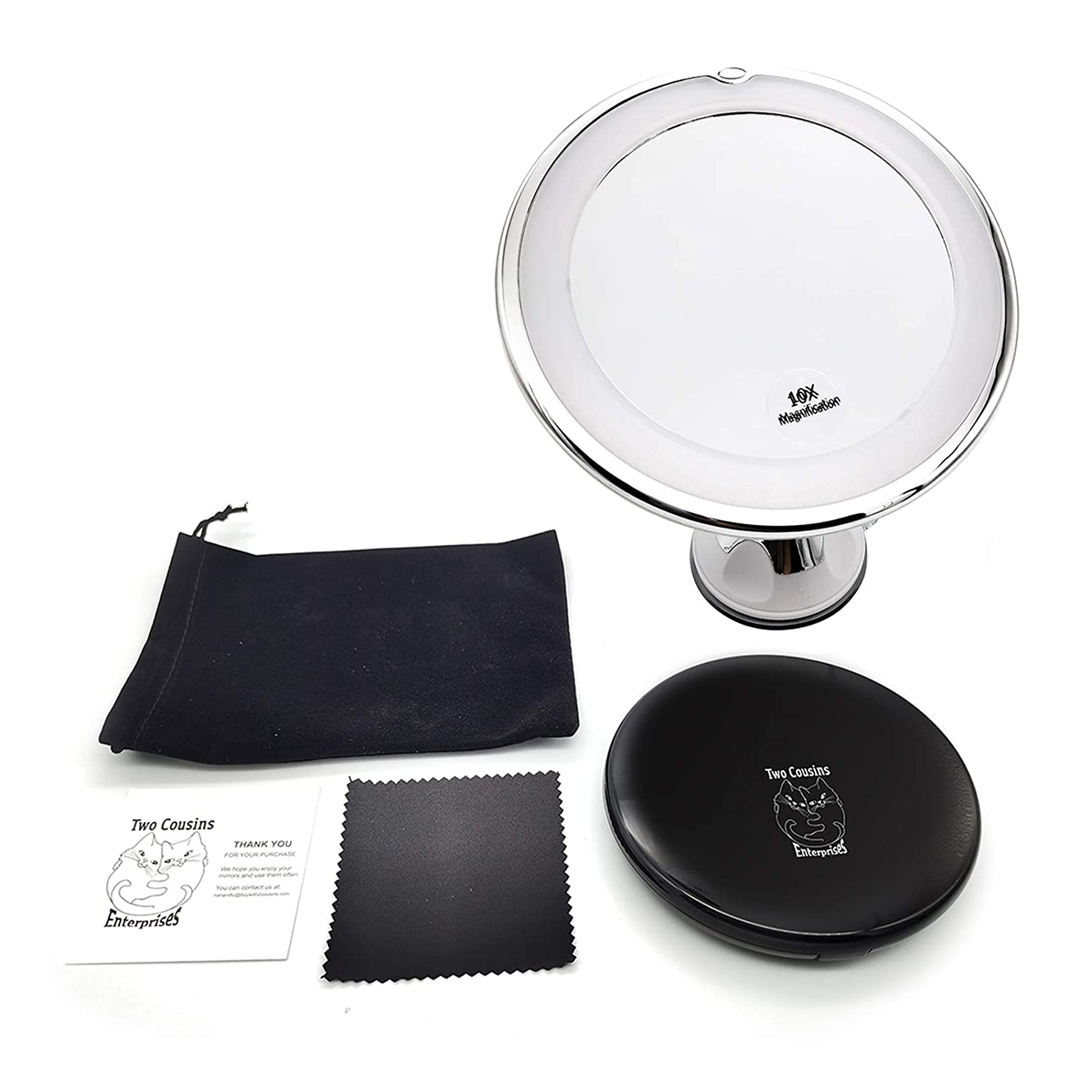 LED Sale item Travel San Jose Mall and Compact Mirrors