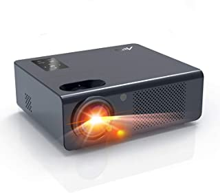 """Movie Projector- Artlii Energon Home Theater Projector with Dolby HiFi Stereo and Screen Zooming, 250"""" Outdoor Projector S..."""