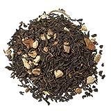 Aromas de té - Té Rojo Pu Erh Sabores de Oriente - Con Canela, Jengibre, Cáscara de Naranja y Vainilla - Especiado - Deliciosos Sabores De Oriente -100 gr