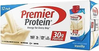 Premier Nutrition High Protein Shake, Vanilla, 11 oz. (Pack of 36)