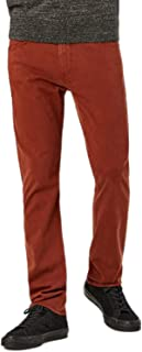 34 Heritage (Charisma - Rust Twill Comfort Rise Relaxed Straight Leg Jeans