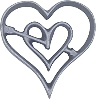 Kitchen Supply 7125 Rosette Iron; Valentine Heart; New; Free Shipping