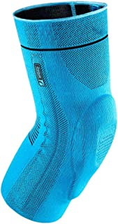 Ossur Formfit Pro Knee Sleeve – Compression 3D Knit Medical Grade Brace – for Knee Patella Joint Pain – Gym, Running, Basketball, Workout, Lifting, Crossfit, Tennis (Blue, X-Large)