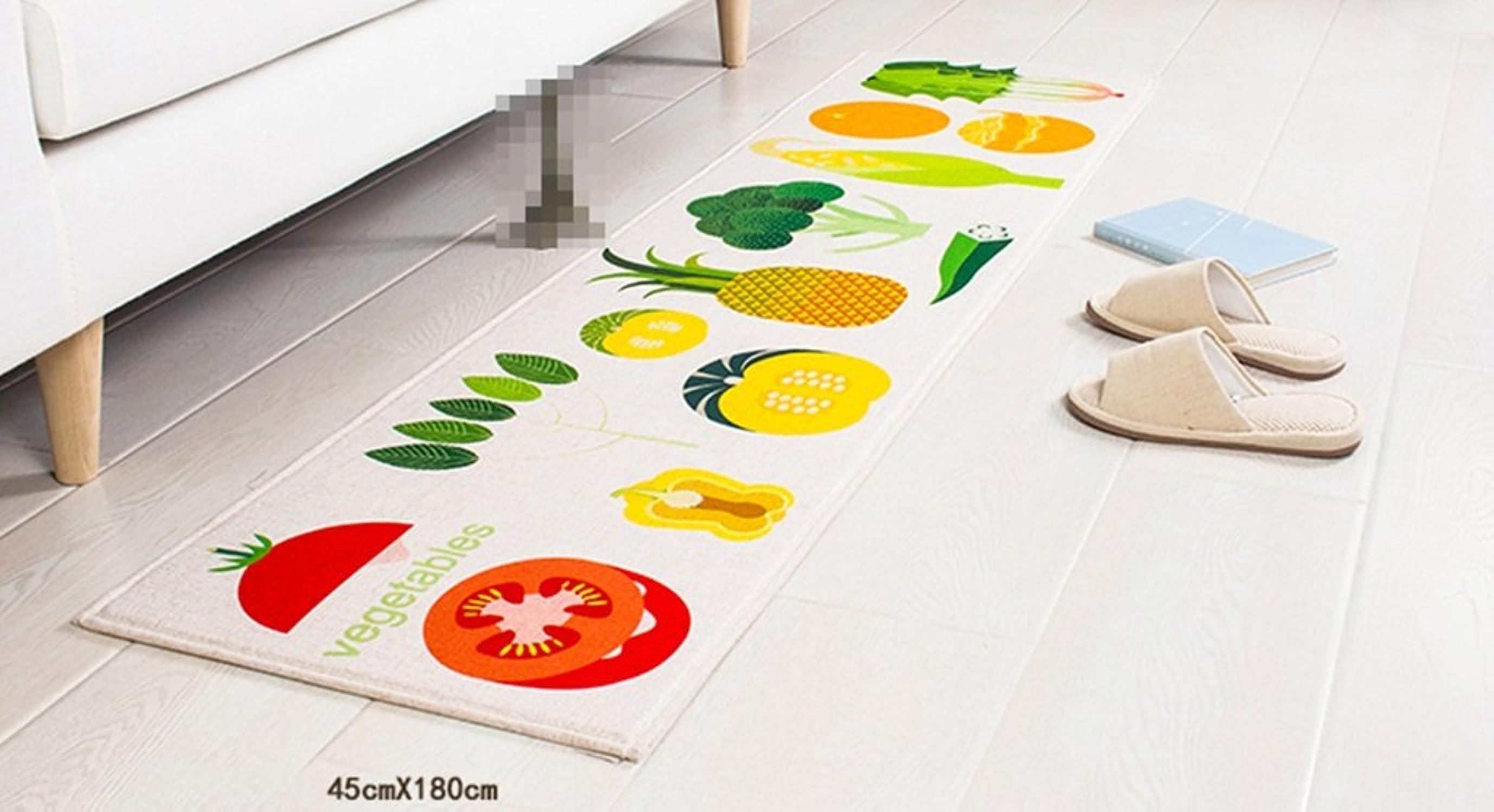 Yuanqi carpet Tapetes para el hogar, Rectángulo de Seguridad Antideslizante Alfombra de succión Sala de Estar Dormitorio de la Cocina Estudio del Hotel Estilo del cortijo Grosor 1CM