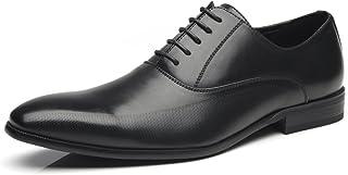 Men Dress Shoes Lace Up Zapatos de Hombre Comfortable...