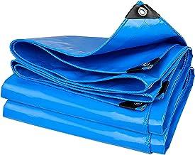 ZZYE Dekzeil Waterdichte Tarp - Multi-Purpose Poly Agricultural Tarps - Heavy Duty-dekking voor tenten en weerbescherming ...