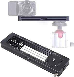ماكرو تركز السكك الحديدية المنزلق للكاميرا MILC والهاتف، ومتضخمة الفيديو المحمولة المسار لتصوير ماكرو والفيديو