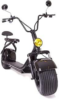 eDrift ES295 2.0 Electric Fat Tire Scooter Moped with Shocks 2000w Hub Motor Harley E-Bike