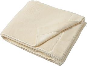 厚手 タオルケット エコテックススタンダード100 西川 キングパイル 綿100% コットン 全世界共通 エコテックス 認証 有害物質検査済 高級 ブランケット ダブルサイズ アイボリー