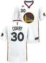 adidas Stephen Curry Golden State Warriors Pride Swingman Jersey (White)