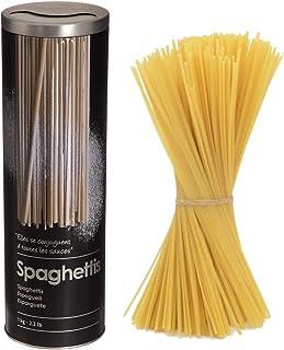VITA PERFETTA 1 x Boîte à Pates, Boîte à Spaghettis, Récipient de Conservation pour Les Pâtes et Les Nouilles (27 cm, Noir)