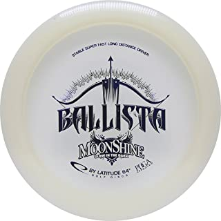 Latitude 64 Moonshine Opto Glow Ballista Distance Driver Golf Disc [Colors May Vary]
