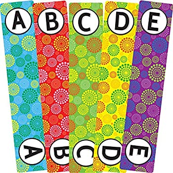 Really Good Stuff Classroom Library Alphabet Book Dividers