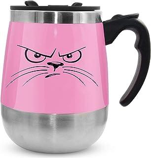 LEADNOVO Update Self Stirring Mug Auto Self Mixing Stainless Steel Cup for Bulletproof/Keto Coffee/Tea/Hot Chocolate/Milk/...