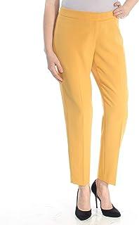 Anne Klein Women's Plus Crepe Slim Pant