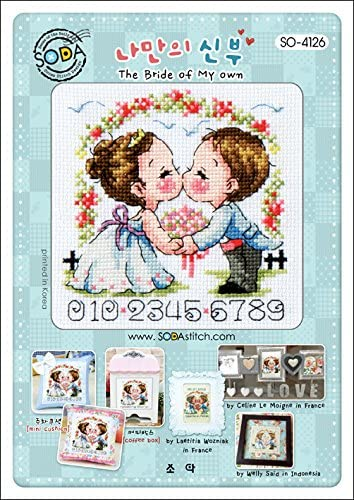 Ranking TOP10 SO-4126 New mail order The Bride of My own Pattern Cross leaflet SODA Stitch