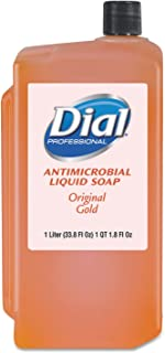 Dial Professional 84019 Gold Antimicrobial Soap Floral 1000mL Refill 8/Carton