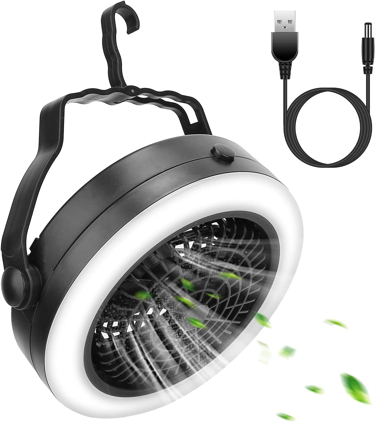 Portable Camping LED Fan 2 in Ha Battery 1 Operated Outdoor USB Indianapolis Mall supreme