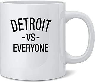 Poster Foundry Detroit vs Everyone Sports Fan Coffee Mug Tea Cup 12 oz