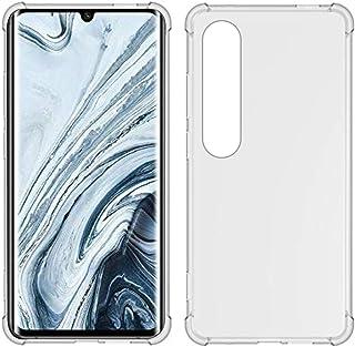 USTIYA Xiaomi 10 / 10 Pro ケース クリア Mi 10 Pro 柔らかい TPU 薄型 いエアバッグ 透明