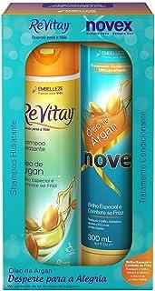 Shampoo e Condicionador Vitay Óleo de Argan Kit, Novex