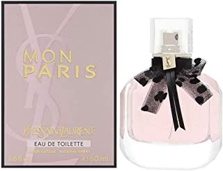 Yves Saint Laurent Mon Paris for Women Eau de Toilette Spray, 1.6 Ounce