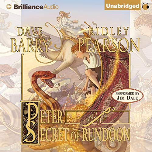 Peter and the Secret of Rundoon audiobook cover art