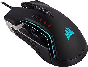 CORSAIR Glaive Pro - RGB Gaming Mouse - Comfortable & Ergonomic - Interchangeable Grips - 18,000 DPI Optical Sensor - Aluminum