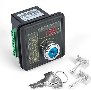 Controlador de generador electrónico, panel de control del módulo de control del controlador del generador de arranque manual del motor DC10K