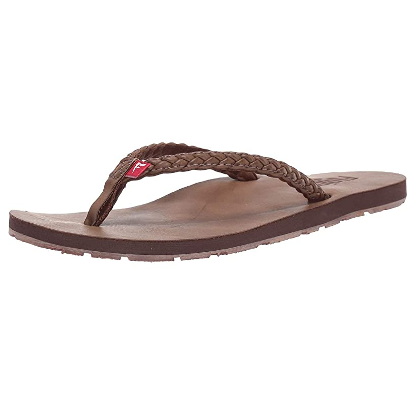 Flojos Women Harper Flip Flops, Tan, 5M US