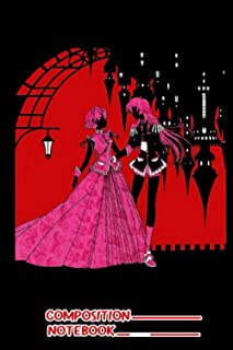 Utena X Anthy Notebook: (110 Pages, Lined, 6 x 9)