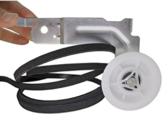 MAYITOP 6602-001655 Dryer Belt & Idler Pulley Assembly Kit Replacement DC93-00634A for Samsung DC96-00882C, PS4133825, AP4373659, LB1655, 5PH2337, AP4213616, PS4216837